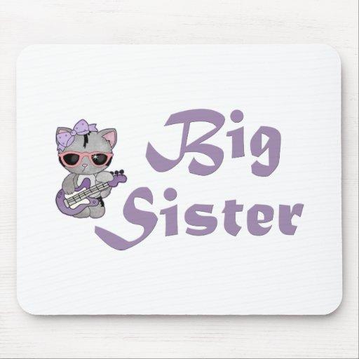 Hip Kitty Big Sister 3 Mouse Pad