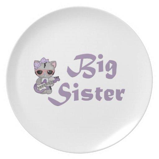 Hip Kitty Big Sister 3 Plate