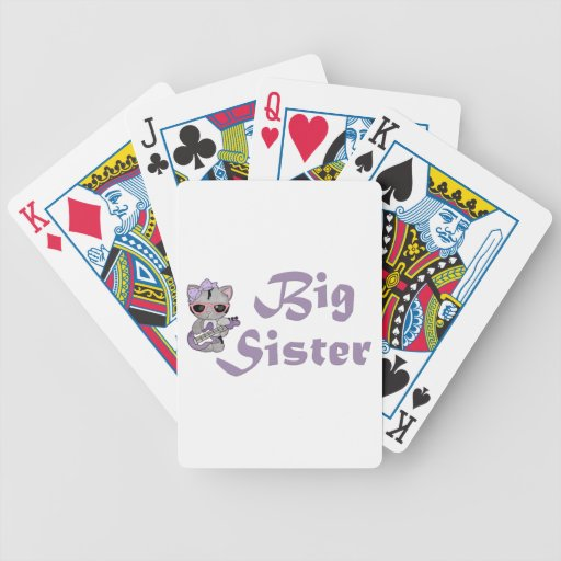 Hip Kitty Big Sister 3 Poker Cards