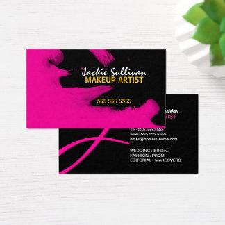 Hip Makeup Artist Business Card