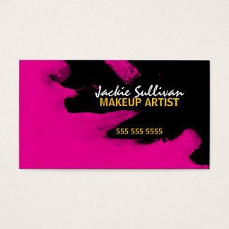 Hip Makeup Artist Business Cards