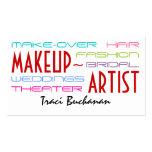 Hip Makeup Artist Business Cards