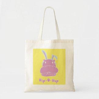 Hip-O-Hop Tote Budget Tote Bag
