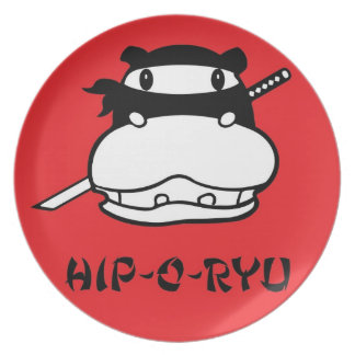 Hip-O-Ryu Plate Red
