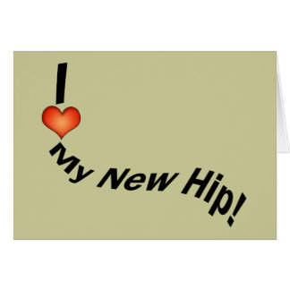 Hip Replcement T-shirts Get Well Gifts Greeting Cards