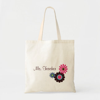 Hip Teacher Tote Bag