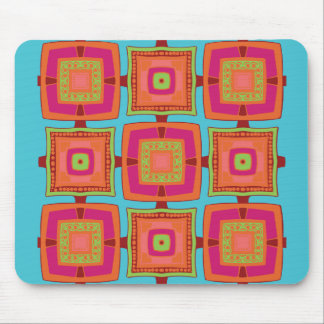 Hip To Be Square Mouse Mat