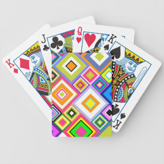 Hip to be Square Quilt Bicycle Playing Cards