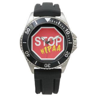 HIPAA STOP WATCH