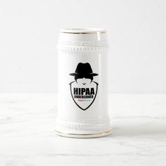 HIPAA Undercover Beer Stein