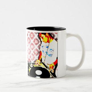 hiphop 1 Two-Tone mug