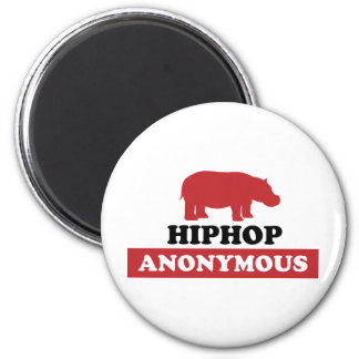 HipHop Anonymous 6 Cm Round Magnet