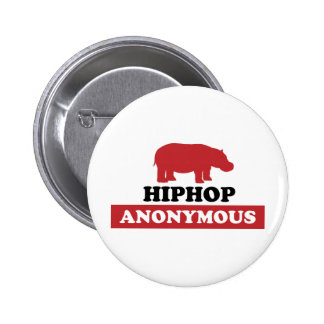HipHop Anonymous Pinback Button