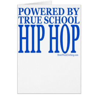 HIPHOP GREETING CARDS