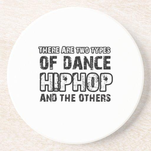 Hiphop dancing designs coaster