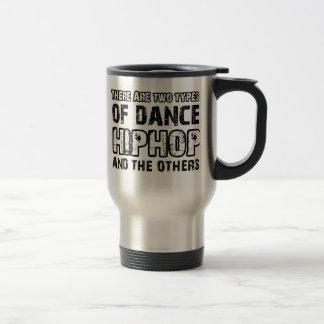 Hiphop dancing designs coffee mug