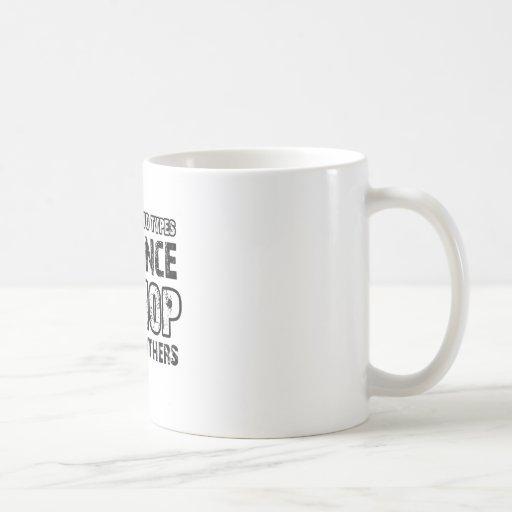 Hiphop dancing designs mug