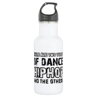 Hiphop dancing designs 532 ml water bottle