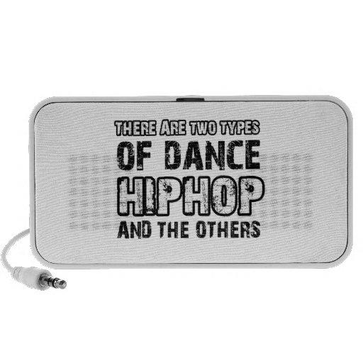 Hiphop dancing designs speakers