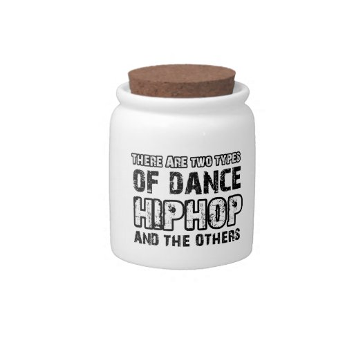 Hiphop dancing designs candy dishes