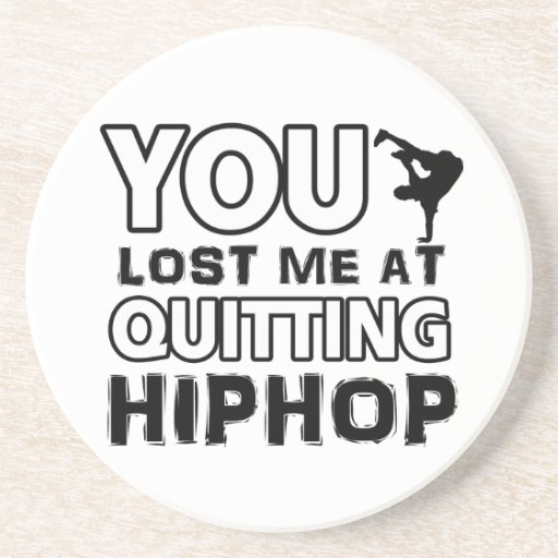 Hiphop designs will make a great gift item beverage coaster