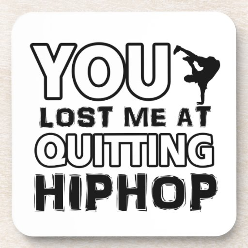 Hiphop designs will make a great gift item coasters