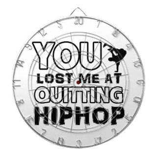 Hiphop designs will make a great gift item dartboard