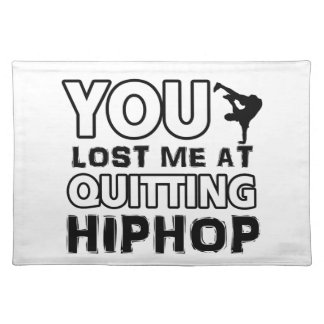 Hiphop designs will make a great gift item place mats