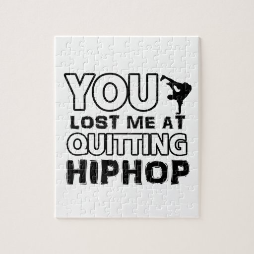 Hiphop designs will make a great gift item jigsaw puzzles