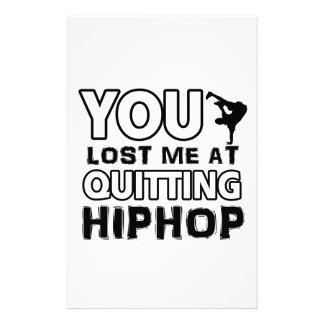 Hiphop designs will make a great gift item stationery paper