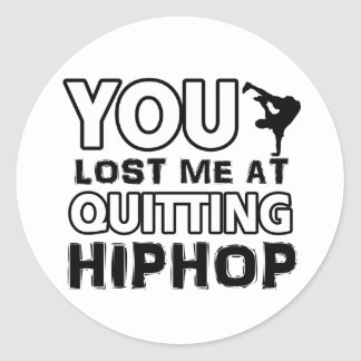 Hiphop designs will make a great gift item sticker
