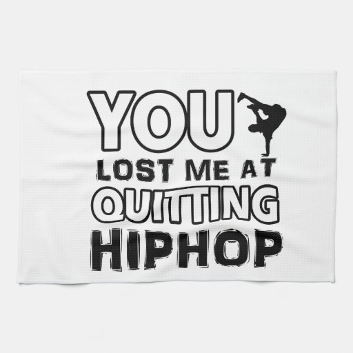 Hiphop designs will make a great gift item kitchen towels
