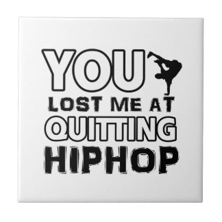 Hiphop designs will make a great gift item tiles