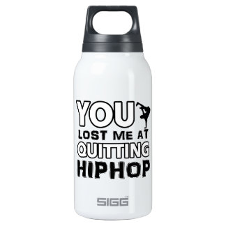 Hiphop designs will make a great item 10 oz insulated SIGG thermos water bottle