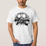 Hiphop Gas Mask Tee Shirt