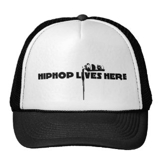 hiphop lives here cap