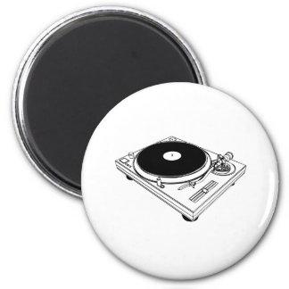 hiphop 6 cm round magnet