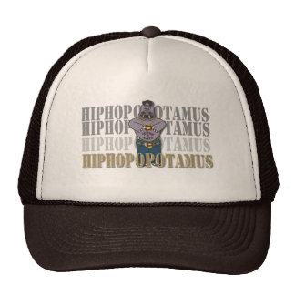 Hiphop-opotamus Cap