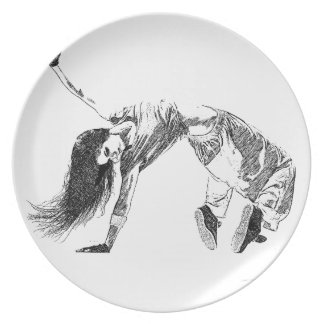 HipHop Dinner Plates