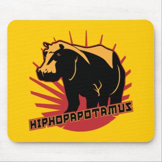 hiphopapotamus rhymenocerous mouse mat
