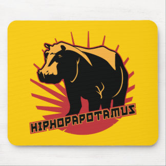 hiphopapotamus rhymenocerous mouse pad