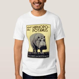 hiphopopotamus hiphopapotamus rhymenocerous tee shirt