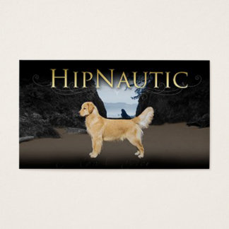 Hipnautic Goldens Business Card