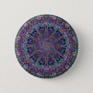 Hippie Art Psychadelic Print 6 Cm Round Badge