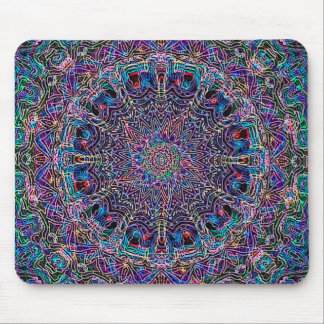 Hippie Art Psychadelic Print Mouse Mat