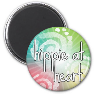 Hippie at Heart Magnet