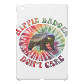 Hippie Badger Don't Care Cover For The iPad Mini