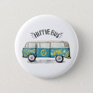 Hippie Bus Button