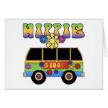 Hippie Bus Greeting Card