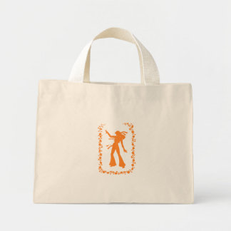 Hippie Chick Tote Canvas Bag